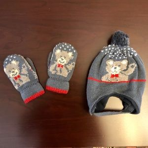 Other - Unisex Infant/Toddler Warm Hat & Gloves Match